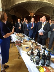 Taste of Galway produce, ERG Award Ceremony