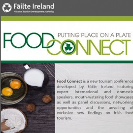 Fáilte Ireland Food Connect Tourism conference – Tankardstown House, Co. Meath 12th/13th September 2016.
